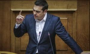 Βουλή: Σφοδρή σύγκρουση Τσίπρα - Μητσοτάκη για Μνημόνια, βία και Σκοπιανό