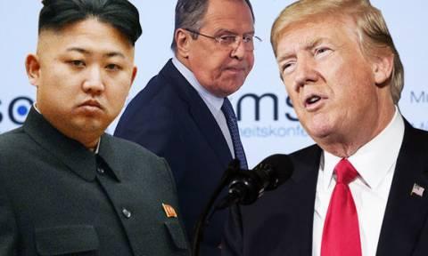 Στην Βόρεια Κορέα σπεύδει ο Λαβρόφ πριν τη συνάντηση Κιμ Γιονγκ Ουν – Ντόναλντ Τραμπ