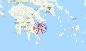 Σεισμός ΤΩΡΑ ανατολικά της Πελοποννήσου (pics)
