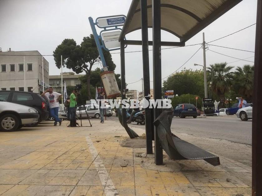 Τραγωδία στη Μεταμόρφωση: Αυτοκίνητο έπεσε σε στάση λεωφορείου - Ένας νεκρός και τέσσερις τραυματίες