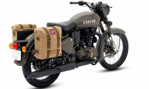 Το είδαμε κι αυτό: Μοτοσικλέτα βγαλμένη από τον Β' Παγκόσμιο Πόλεμο!