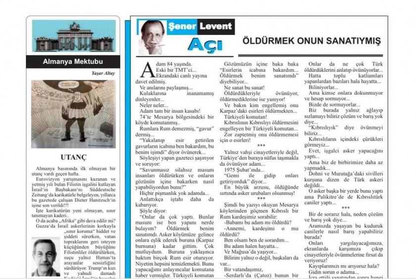 Κυνική ομολογία Τουρκοκύπριου: «Τέχνη μου ήταν να σκοτώνω άμαχους Ελληνοκύπριους»