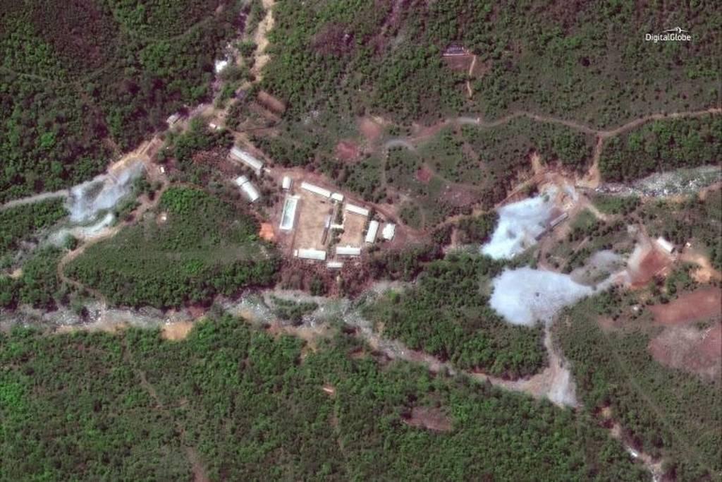 ΕΚΤΑΚΤΟ: Ιστορική στιγμή: Η Βόρεια Κορέα ανατίναξε το πεδίο πυρηνικών δοκιμών