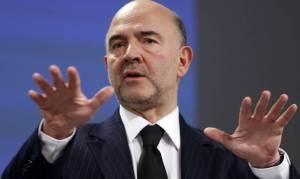 Μοσκοβισί: Δεν θα υπάρξουν σήμερα ανακοινώσεις για το ελληνικό χρέος