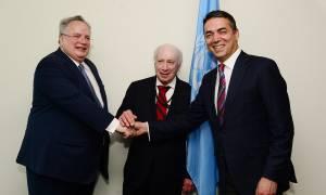 Νέα Υόρκη: Κρίσιμες συνομιλίες Κοτζιά - Ντιμιτρόφ - Νίμιτς για το Σκοπιανό