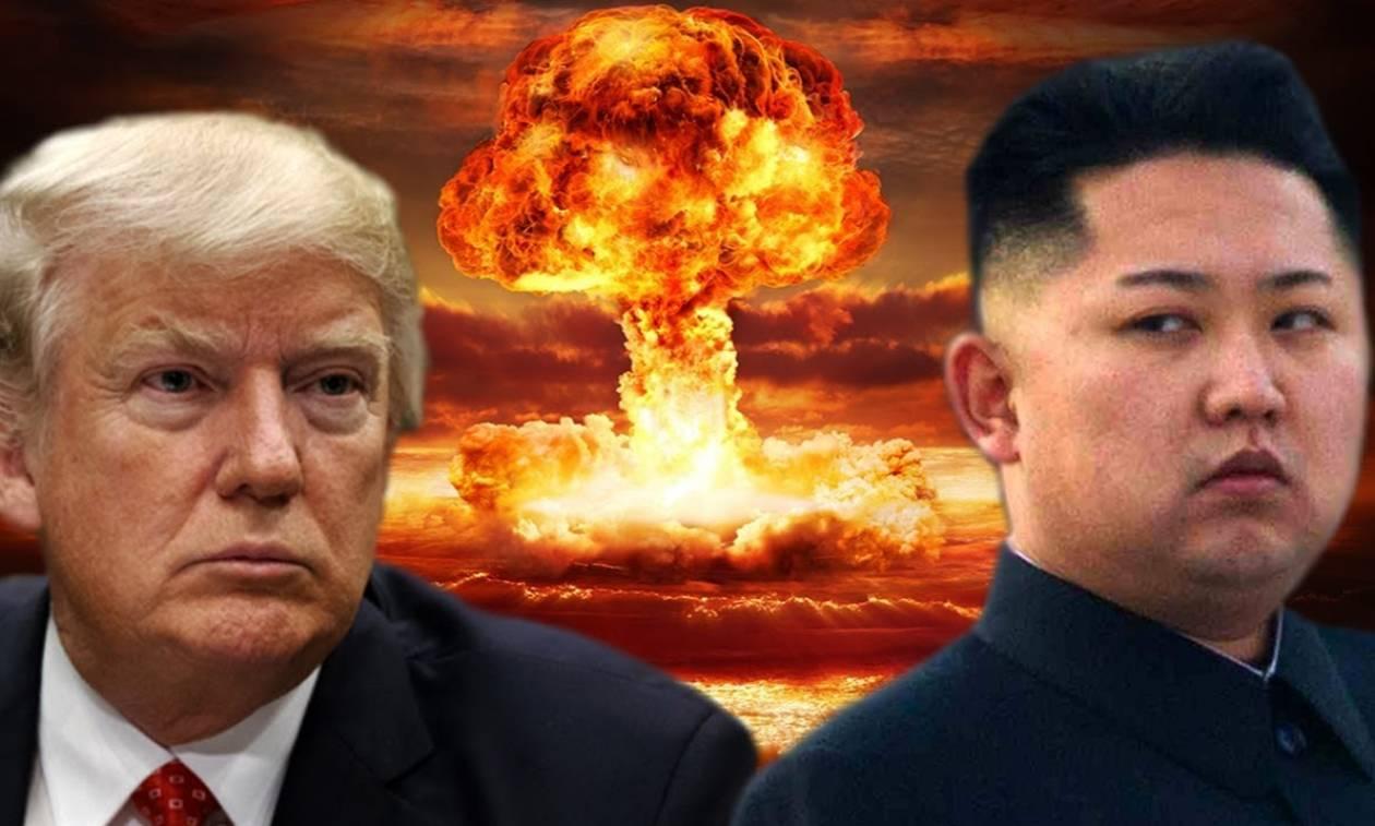 Ραγδαίες εξελίξεις: Ο Τραμπ απειλεί με πόλεμο τον Κιμ Γιονγκ Ουν (Vid)