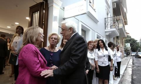 Εγκαινιάστηκε από τον Προκόπη Παυλόπουλο ο ξενώνας του συλλόγου «Πνοή Αγάπης»