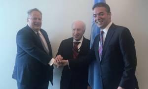Σκοπιανό: Μαραθώνιες διαπραγματεύσεις Κοτζιά με Ντιμιτρόφ – Το πρωί της Παρασκευής η συνέχεια