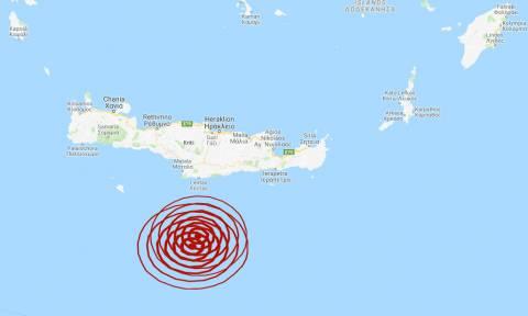 Σεισμός: Διπλή σεισμική δόνηση νότια της Κρήτης (pics)