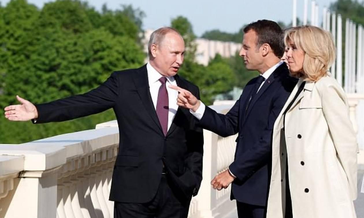 Ηχηρό μήνυμα Μακρόν: Η Ρωσία είναι αναπόσπαστο τμήμα της Ευρώπης