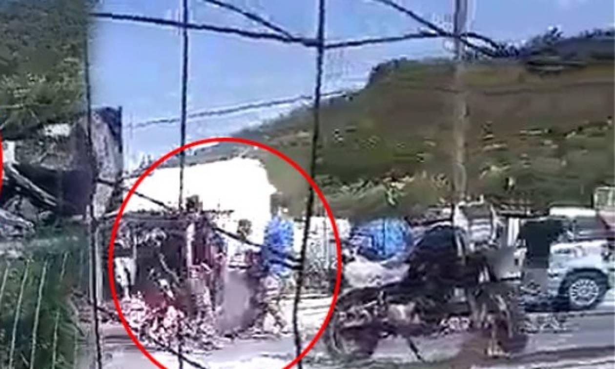 Μυτιλήνη: Άγρια επεισόδια με τραυματίες στο hotspot της Μόριας