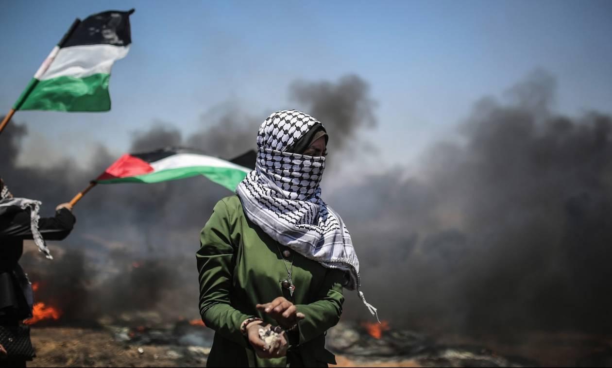 Στο αίμα βάφτηκε πάλι η Γάζα: Δεκάδες Παλαιστίνιοι τραυματίες από ισραηλινά πυρά (Pics)