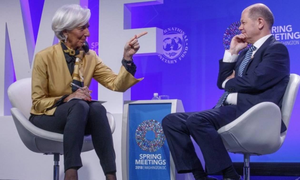 SZ: Γερμανία και ΔΝΤ «σφάζονται» για τα… μάτια της Ελλάδας