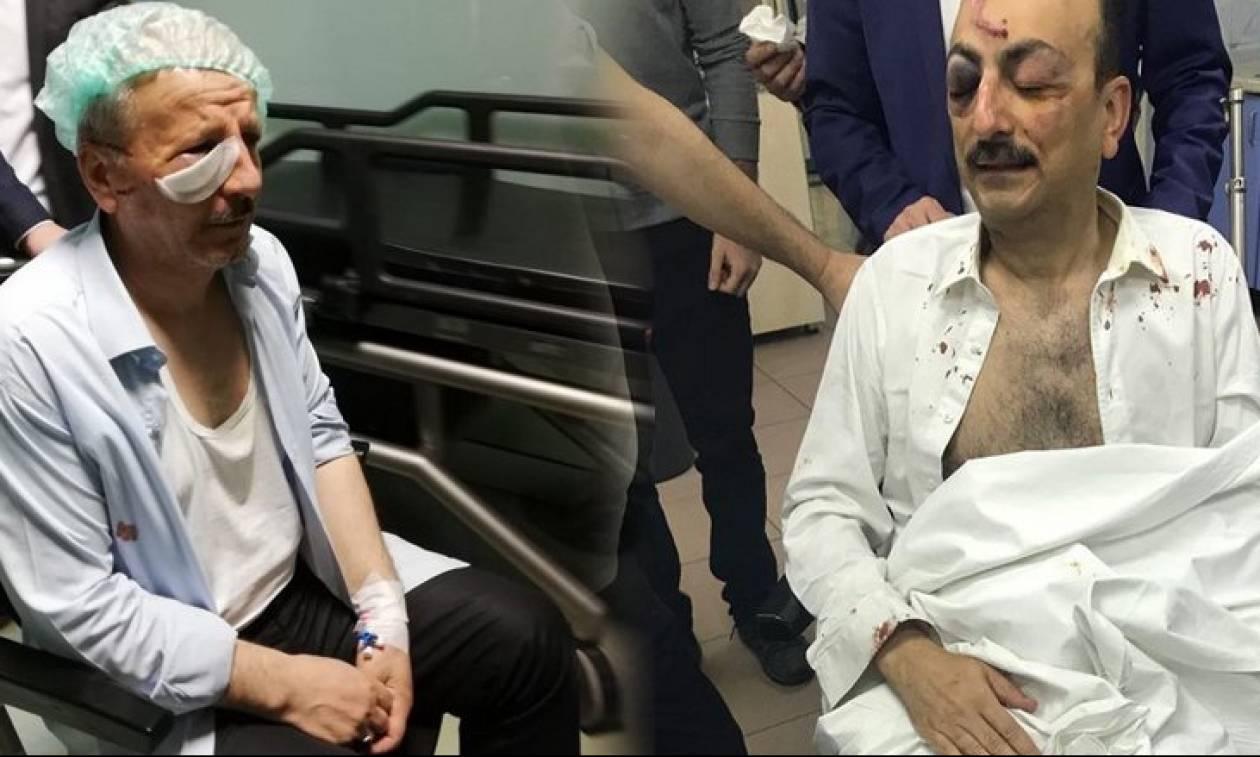 Ματωμένος ο προεκλογικός αγώνας του Ερντογάν: Δολοφονική επίθεση κατά βουλευτή (vid+pics)
