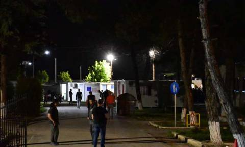 Ημαθία: Αιματηρή συμπλοκή προσφύγων στην Αλεξάνδρεια (pics&vid)