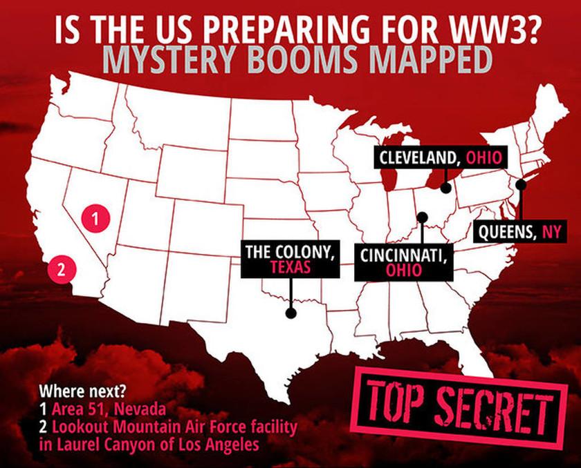 Φήμες ότι στις ΗΠΑ ετοιμάζουν καταφύγια πολέμου
