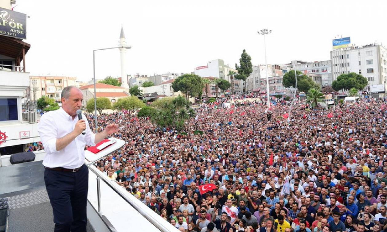 Εκλογές Τουρκία: Επίθεση στον Ερντογάν μέσω Ελλάδας για τον «Θεσσαλονικιό» Μουχαρέμ Ιντζέ