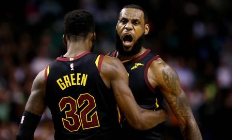 NBA: «Βασιλικό» break και τελικοί για Καβαλίερς (pics+vid)