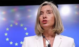 Μογκερίνι: Υπάρχει πρόοδος στο Σκοπιανό