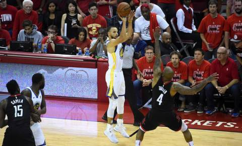 NBA: Πέρασαν από το Χιούστον και πάνε τελικούς οι Ουόριορς (pics+vid)