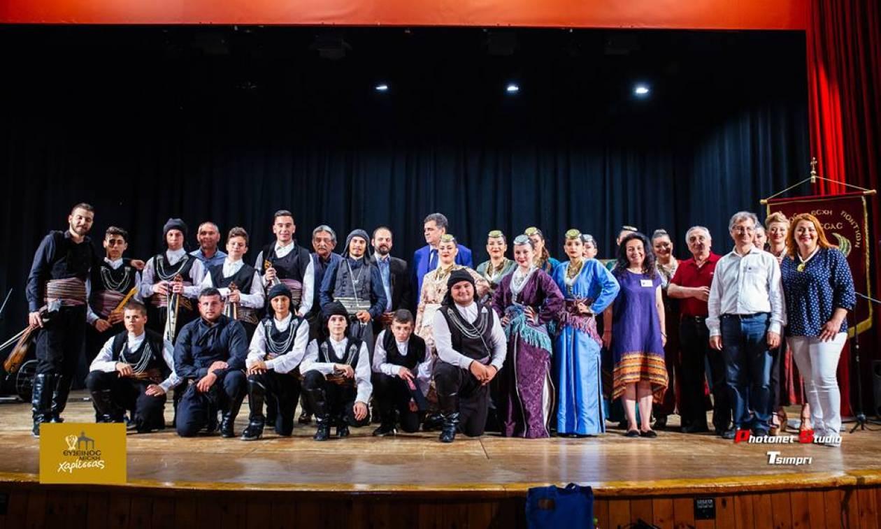 «Με τον διωγμό στην Ψυχή»: Μεγάλη επιτυχία στην εκδήλωση της Ευξείνου Λέσχης Χαρίεσσας (pics)