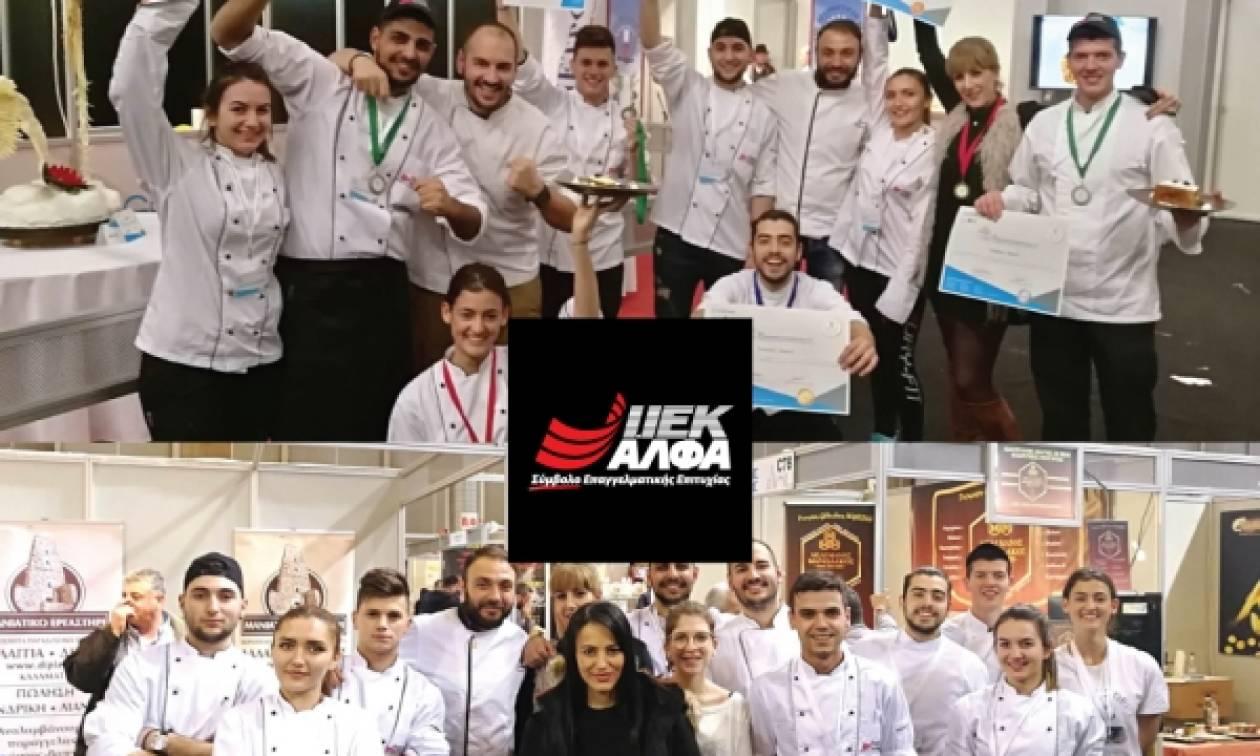 Οι σπουδαστές Μαγειρικής και Ζαχαροπλαστικής του ΙΕΚ ΑΛΦΑ στα κορυφαία ελληνικά ξενοδοχεία