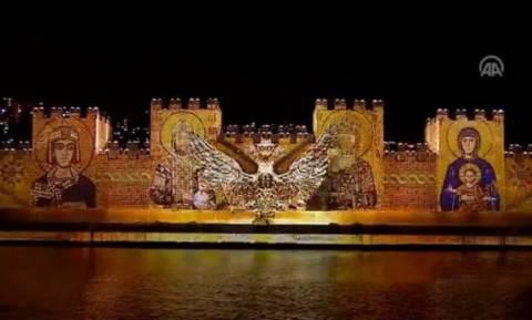 Εμετικό υπερθέαμα Ερντογάν για την Άλωση της Πόλης: Τείχη γκρεμίζονται και Άγιοι «φλέγονται»