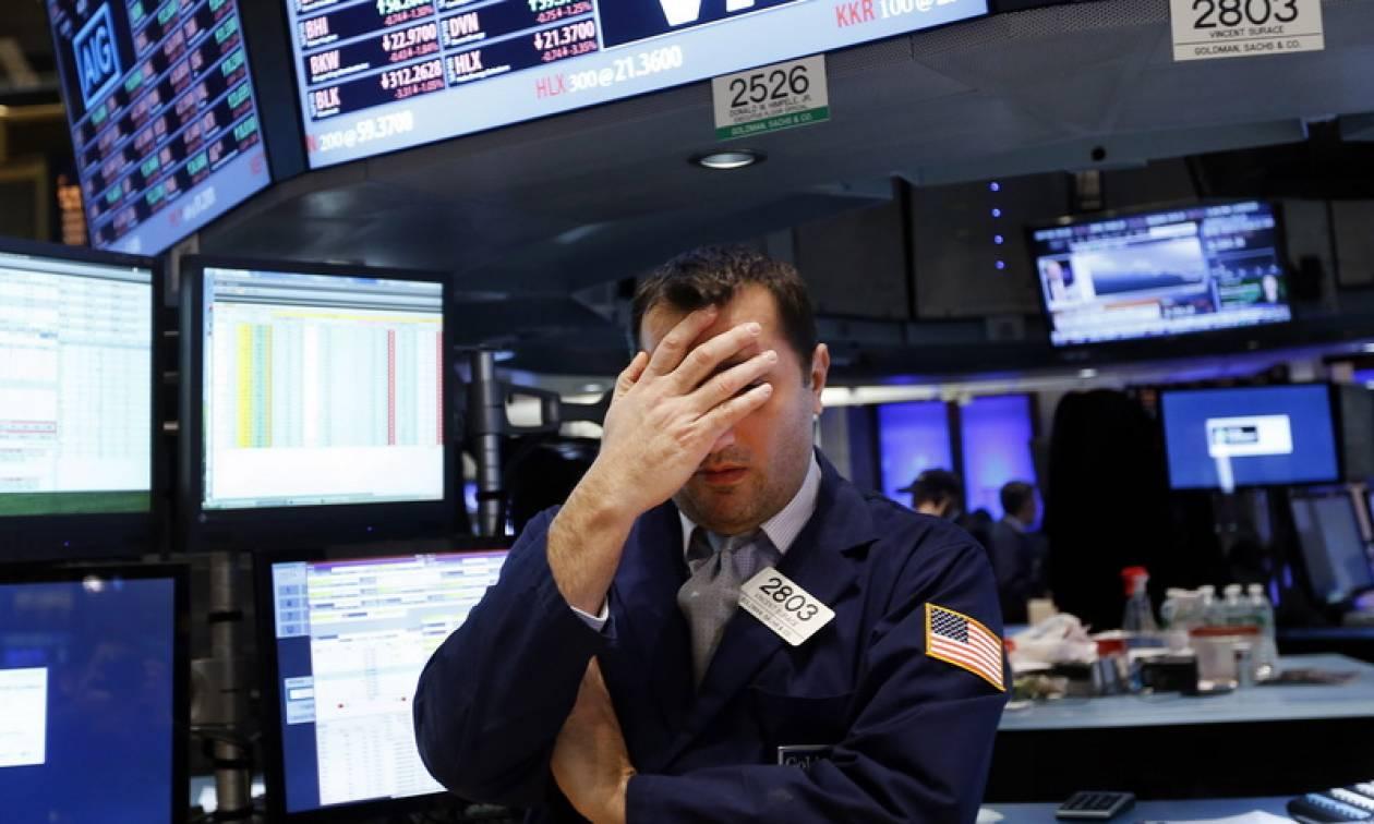 Η κρίση στην Ιταλία επηρέασε τη Wall Street