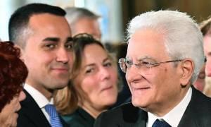Ιταλία: O Ντι Μάιο την… «χαρίζει» στον Ματαρέλα - Δεν ζητάει την καθαίρεσή του