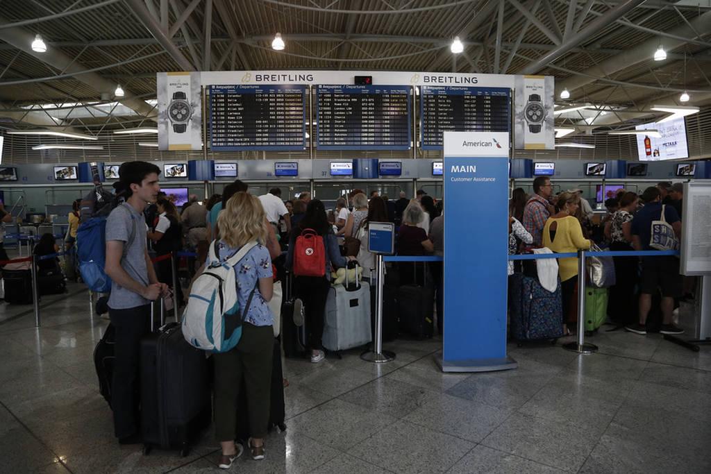 Εικόνα από το αεροδρόμιο «Ελευθέριος Βενιζέλος»