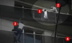 Θεωρίες συνωμοσίας μετά τη διάσωση του 4χρονου από τον «Spiderman» των Παρισίων!