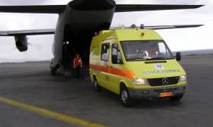 Ηράκλειο: Αερογέφυρα ζωής για βρέφος που πνίγηκε με κομμάτι μήλου - Σώθηκε τελευταία στιγμή