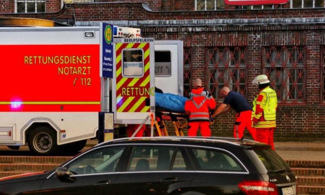 Επίθεση με μαχαίρι στη Γερμανία: Ένας νεκρός και δύο τραυματίες σε σταθμό τρένου (vid+pics)