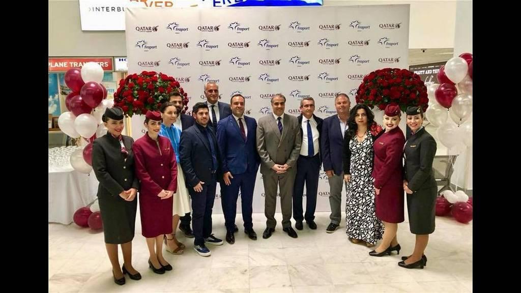 Η Qatar Airways εγκαινίασε την πρώτη της πτήση για Μύκονο