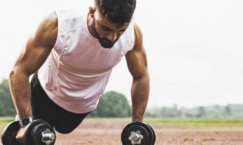 Ήξερες ότι υπάρχει άσκηση που γυμνάζει ΟΛΟ το κορμί σου;