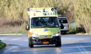 Σοβαρό τροχαίο με τρεις τραυματίες στην Εύβοια