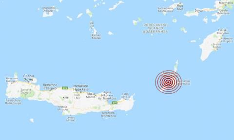 Σεισμός κοντά σε Κάρπαθο και Κάσο (pics)