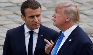Μακρόν σε Τραμπ: Οι δασμοί είναι «παράνομοι» και η ΕΕ θα ανταποδώσει