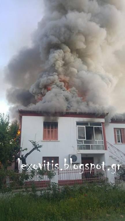 Σοκ στη Φλώρινα: Γυναίκα κάηκε ζωντανή μέσα στο σπίτι της