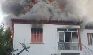 Τραγωδία στη Φλώρινα: Γυναίκα κάηκε ζωντανή μέσα στο σπίτι της