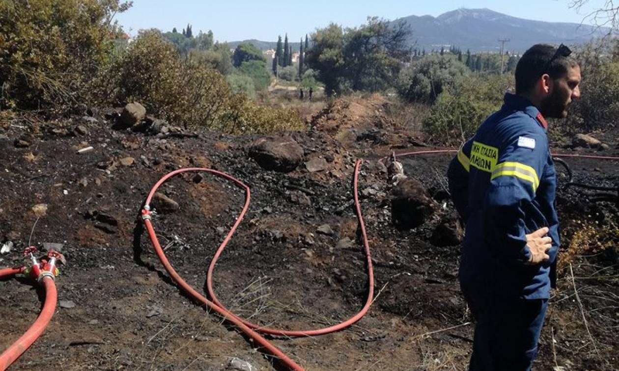 Μεγάλη πυρκαγιά στο Μαρούσι κοντά στο κτήμα «Ανδρέας Συγγρός»