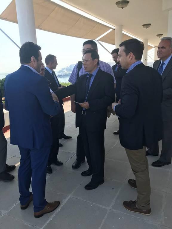 Το Ελληνοκινεζικό Επιμελητήριο υποδέχτηκε τον νέο εμπορικό ακόλουθο της Κίνας