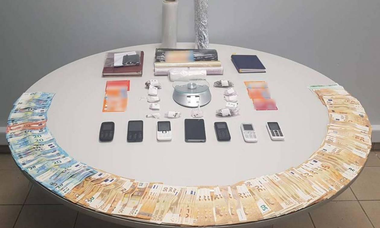Τέσσερις συλλήψεις μελών διεθνούς κυκλώματος ναρκωτικών στη Θεσσαλονίκη (pics)