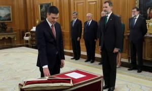 Ισπανία: Ορκίστηκε πρωθυπουργός ο Πέδρο Σάντσεθ