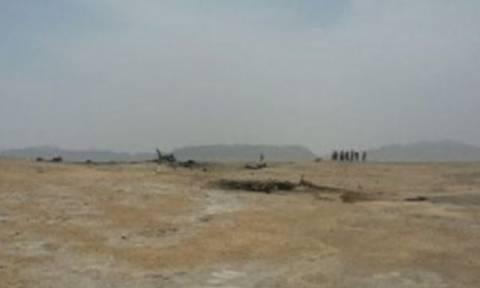 Ιράν: Συντριβή στρατιωτικού αεροσκάφους (pics)