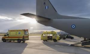 Αερογέφυρα ζωής για δίδυμα από τη Ρόδο στο Ηράκλειο