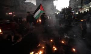 Η ισραηλινή Πολεμική Αεροπορία έπληξε δέκα στόχους στη Λωρίδα της Γάζας