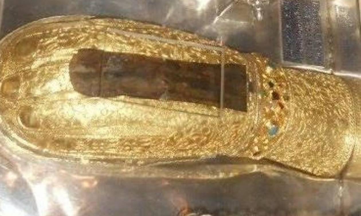 Το άφθαρτο χέρι της Αγίας Μυροφόρου και Ισαποστόλου Μαρίας της Μαγδαληνής με όλο του το δέρμα