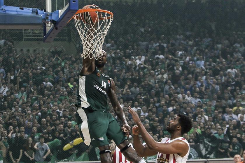 Τελικοί Basket League: Παναθηναϊκός - Ολυμπιακός: Το πρώτο αίμα στο ΟΑΚΑ (pics)