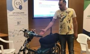 Το δαιμόνιο μυαλό ενός Κρητικού: Κατασκεύασε μοτοσικλέτα που κινείται με... τσικουδιά